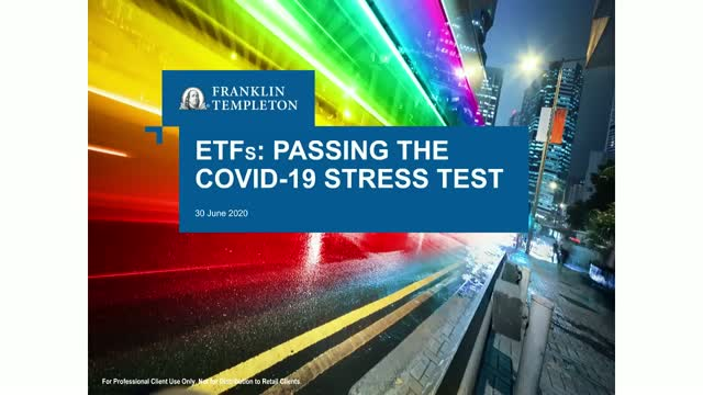 ETFs – Passing the COVID-19 Stress Test