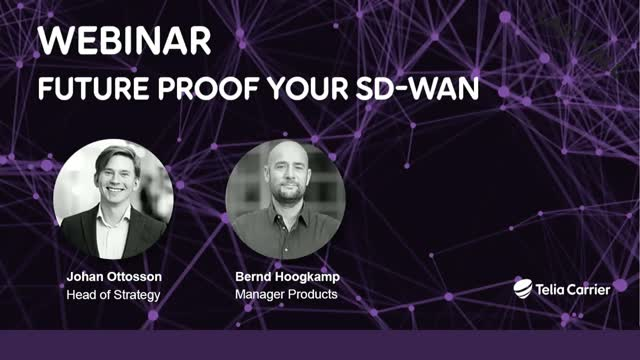 Future proof your SD-WAN