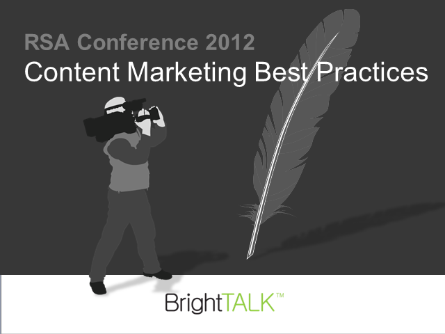 RSA Content Marketing Best Practices