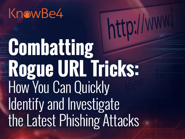 Combatting Rogue URL Tricks: How You Can Quickly Identify and Investigate Links