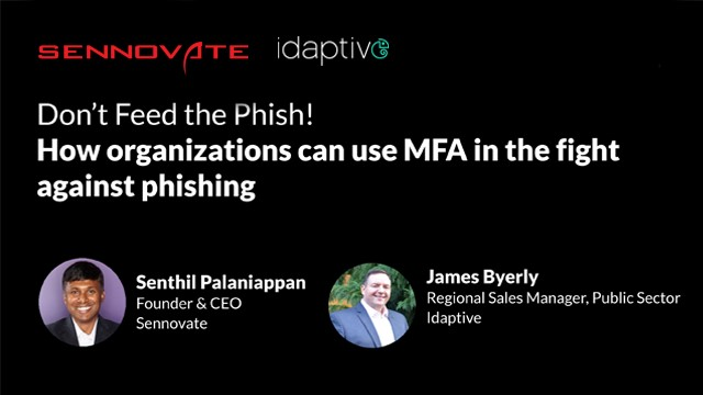 Don't Feed the Phish! How organizations can use MFA against phishing