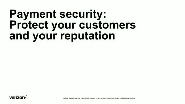 Payment Security: Protect your customers and your reputation.