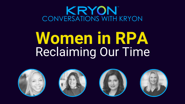 Women in RPA: Reclaiming Our Time