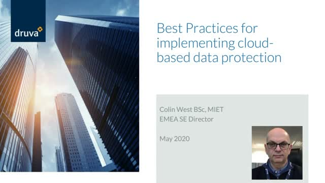 Best Practices - Implementing Cloud-based Data Protection