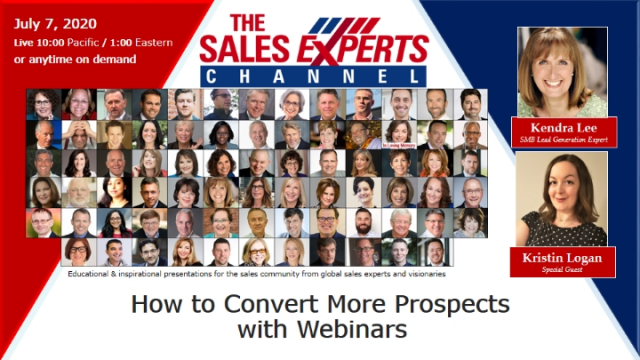 How to Convert More Prospects with Webinars