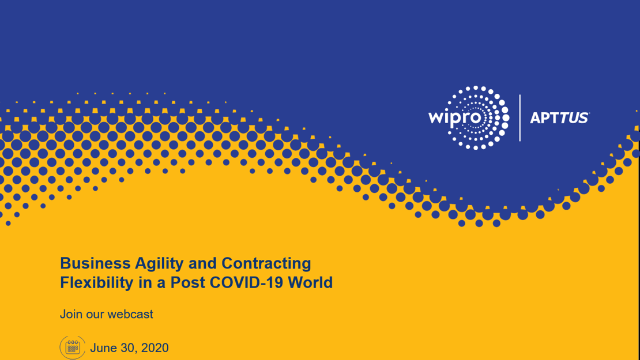 Business Agility and Contracting Flexibility in a Post COVID-19 World