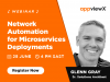 Network Automation for Microservices Deployments