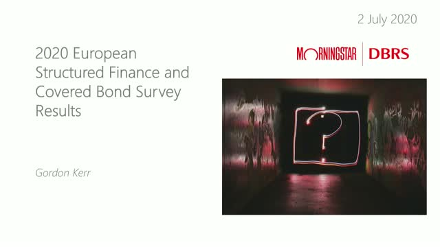 2020 Structured Finance and Covered Bond Survey Results