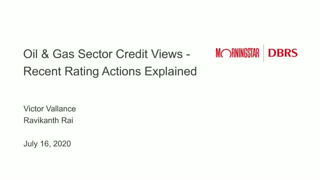 Credit Views on the Oil and Gas Sector: Recent Rating Actions Explained