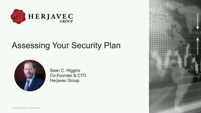 Assessing Your Security Plan