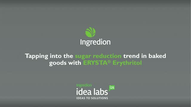 Tapping into the sugar reduction trend in baked goods with ERYSTA® Erythritol
