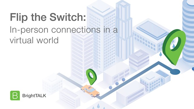 Flip the Switch: In-person connections in a virtual world