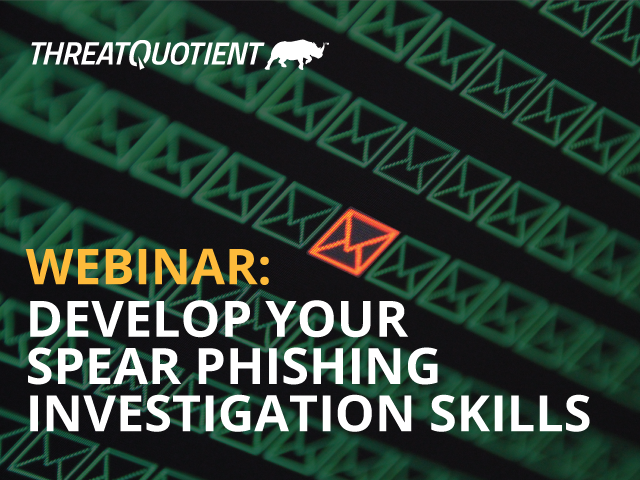 Develop your Spear Phishing Investigation Skills