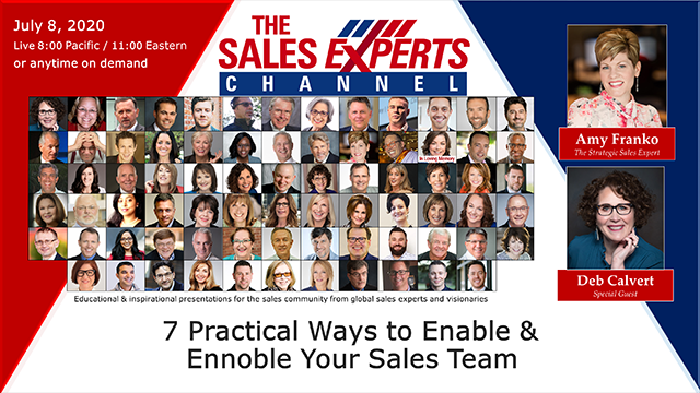 7 Practical Ways to Enable & Ennoble Your Sales Team