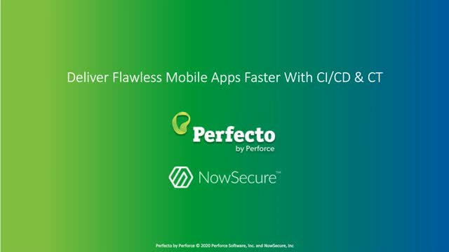 Deliver Flawless Mobile Apps Faster With CI/CD & CT