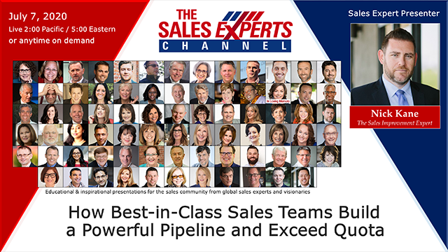 How Best-in-Class Sales Teams Build a Powerful Pipeline and Exceed Quota