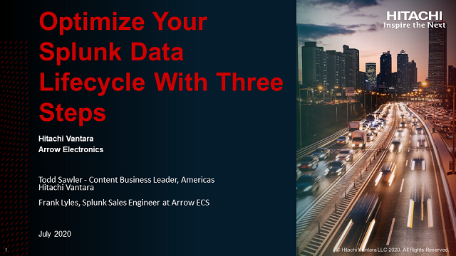 Optimize your Splunk Data Lifecycle with 3 steps
