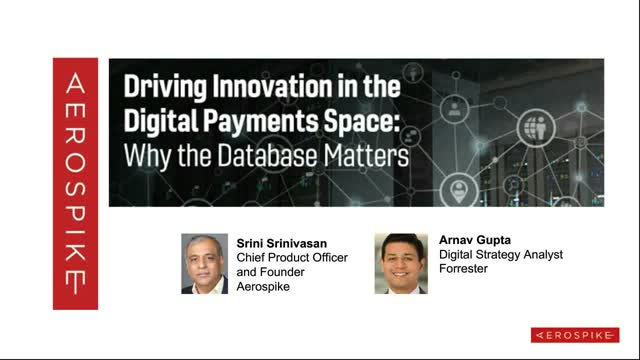 Driving Innovation in the Digital Payments Space: Why the Database Matters