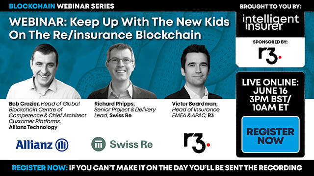 Keep Up With The New Kids On The Re/Insurance Blockchain