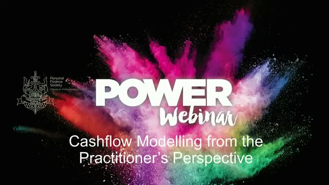 Cashflow modelling from a practitioner's perspective