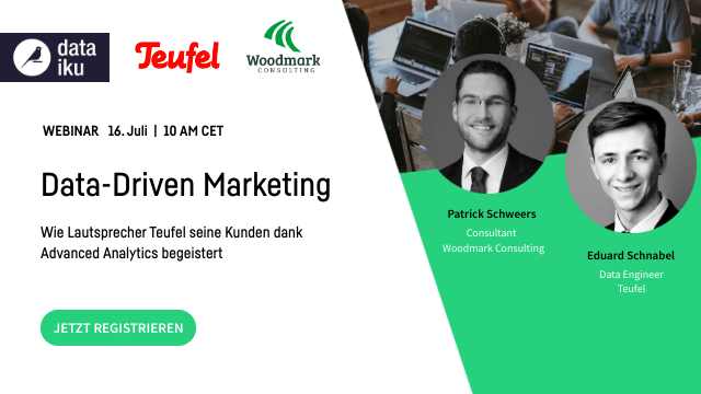 Data-Driven Marketing ft. Woodmark Consulting & Teufel