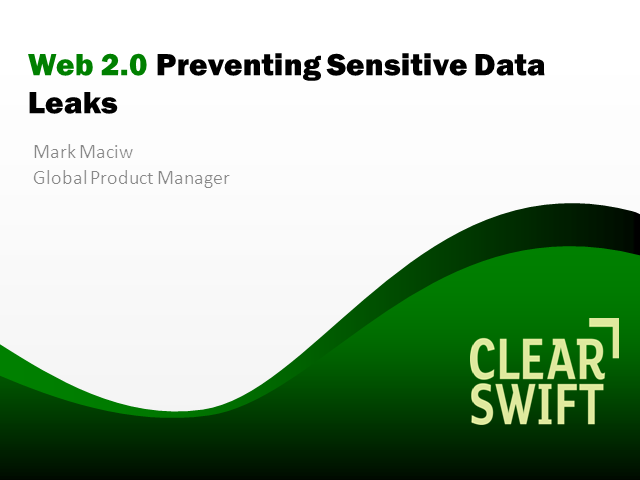 How Can You Keep Your Data Safe and Allow Web 2.0 in Your Organisation?