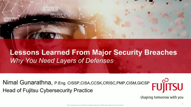 Lessons Learned from Major Security Breaches