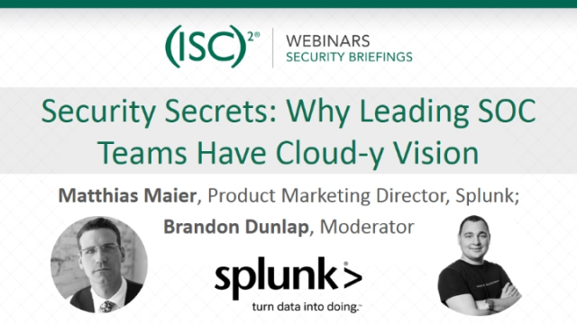 Security Secrets: Why Leading SOC Teams Have Cloud-y Vision