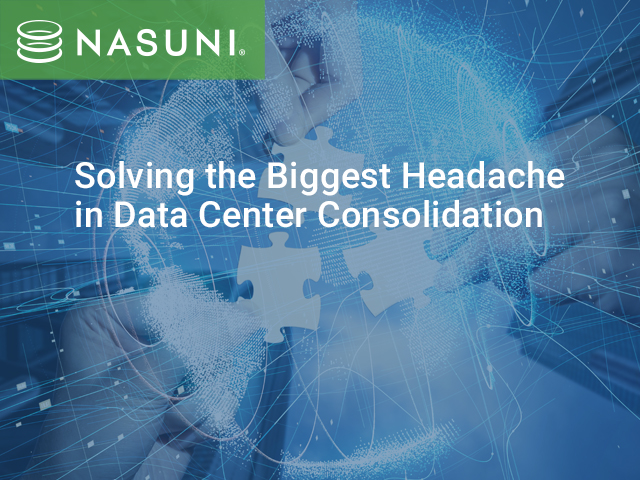 Solving the Biggest Headache in Data Center Consolidation - North America