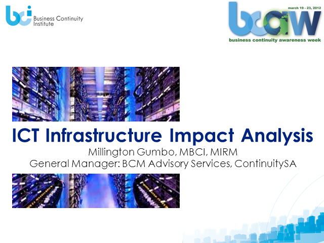 Infrastructure Impact Analysis