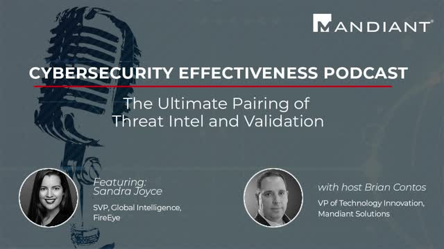 The Ultimate Pairing of Threat Intel and Validation