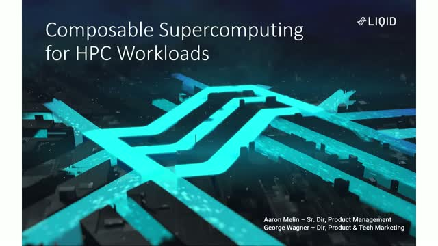 Composable Supercomputing for HPC Workloads [Replay]