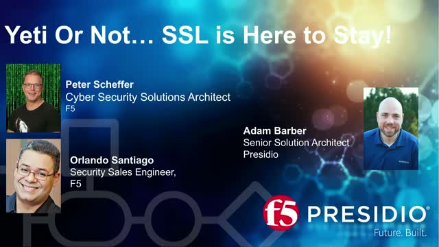Yeti or Not.....SSL is Here to Stay!