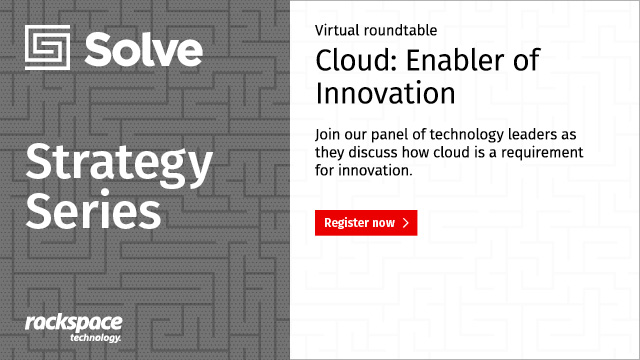 Solve Strategy Series | Cloud – The Enabler of Innovation