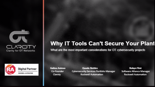 Why IT Tools Can't Secure Your Plant