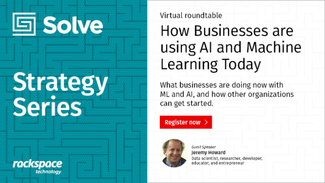 Solve Strategy Series | How Businesses are using AI and Machine Learning Today