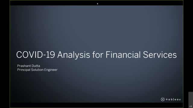 COVID-19 Analysis for Financial Sector