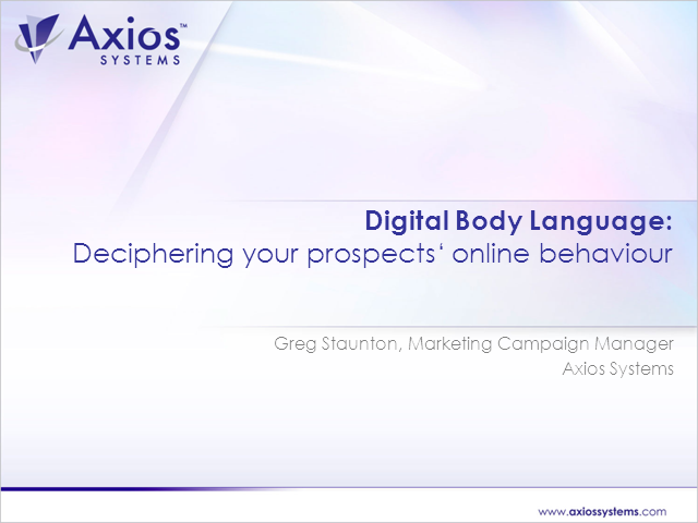 Digital body language: Deciphering your prospects' online behaviour