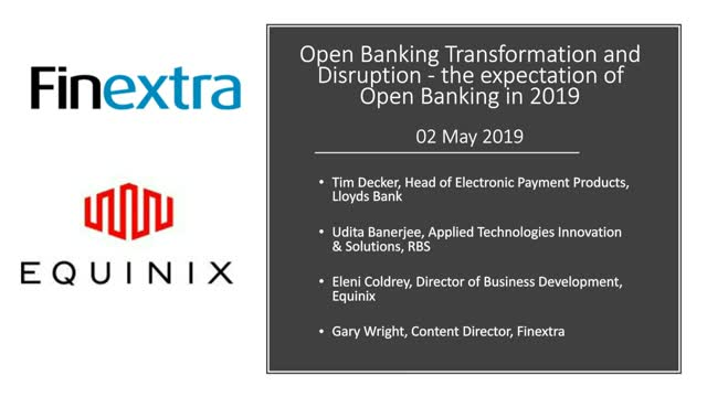 Open Banking Transformation and Disruption