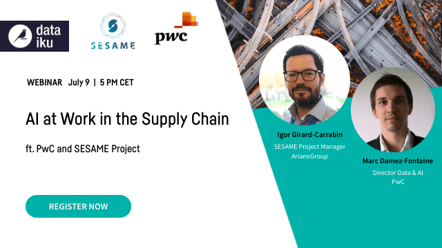 AI at Work in the Supply Chain ft. PwC and SESAME Project
