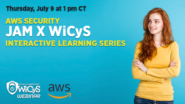 AWS Security JAM x WiCyS | Interactive Learning Series