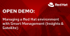 Open Demo: Managing a Red Hat environment with Smart Management