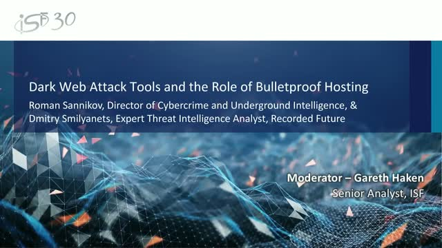 Dark Web Attack Tools and the Role of Bulletproof Hosting