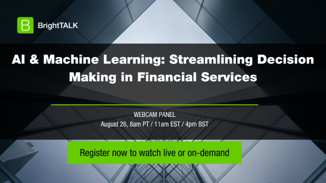 AI & Machine Learning: Streamlining Decision Making in Financial Services