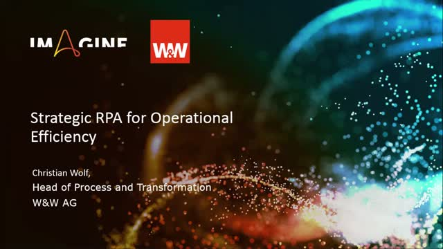 Strategic RPA for Operational Efficiency at W&W-Gruppe