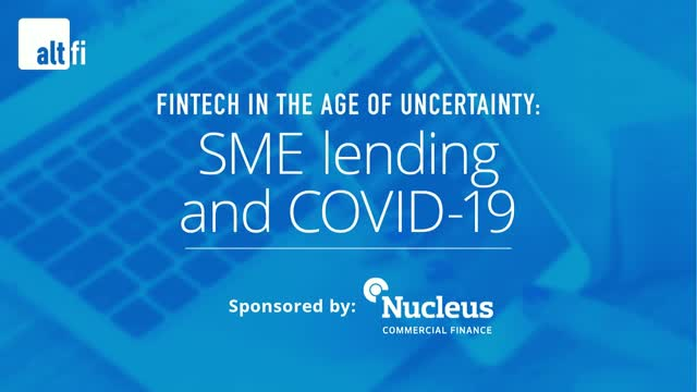 Fintech in the age of uncertainty: SME lending and COVID-19