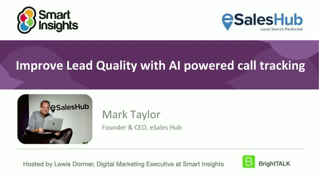 Improve lead quality with AI powered call tracking