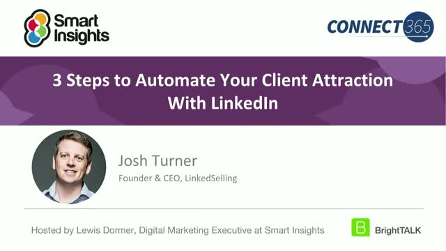 3 steps to automate your client attraction with LinkedIn