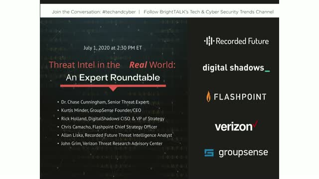 THREAT INTEL IN THE REAL WORLD: An Expert Roundtable