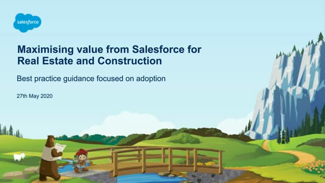 Maximising value from Salesforce for Real Estate and Construction